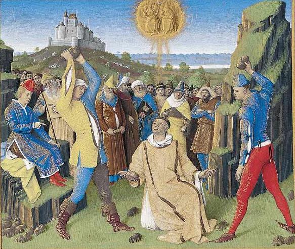 La lapidation de saint Etienne. dans immagini sacre la_lap11