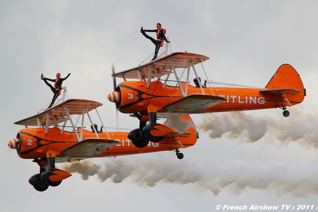 Breitling Wingwalkers Meeting Aerien NTM Cambrai 2011