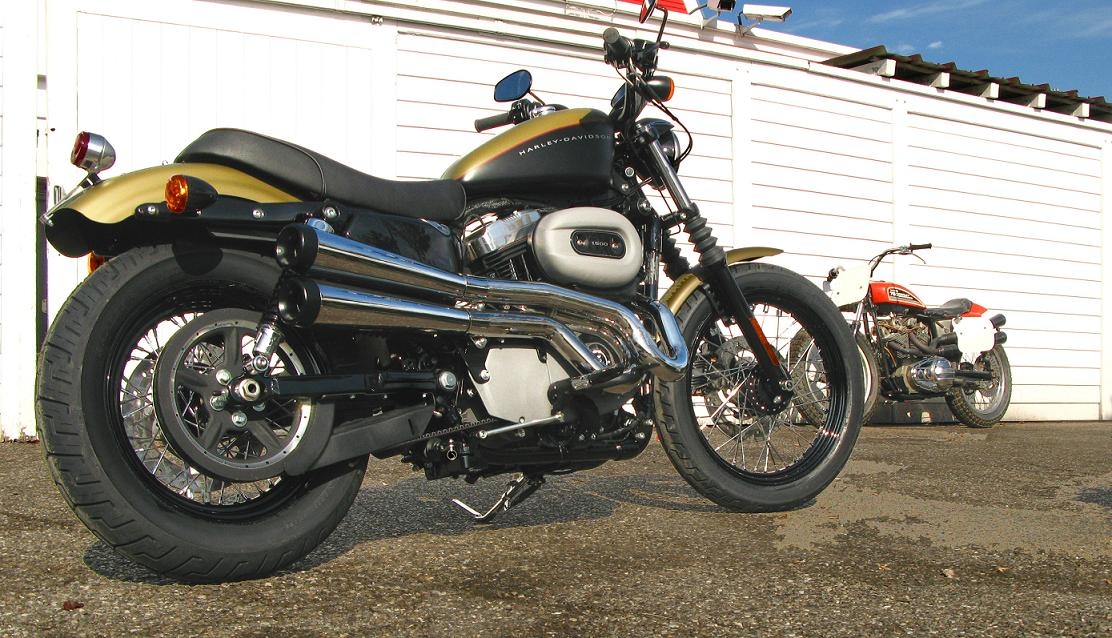 XR style high pipes on a Nightster      - Page 4 - The Sportster and