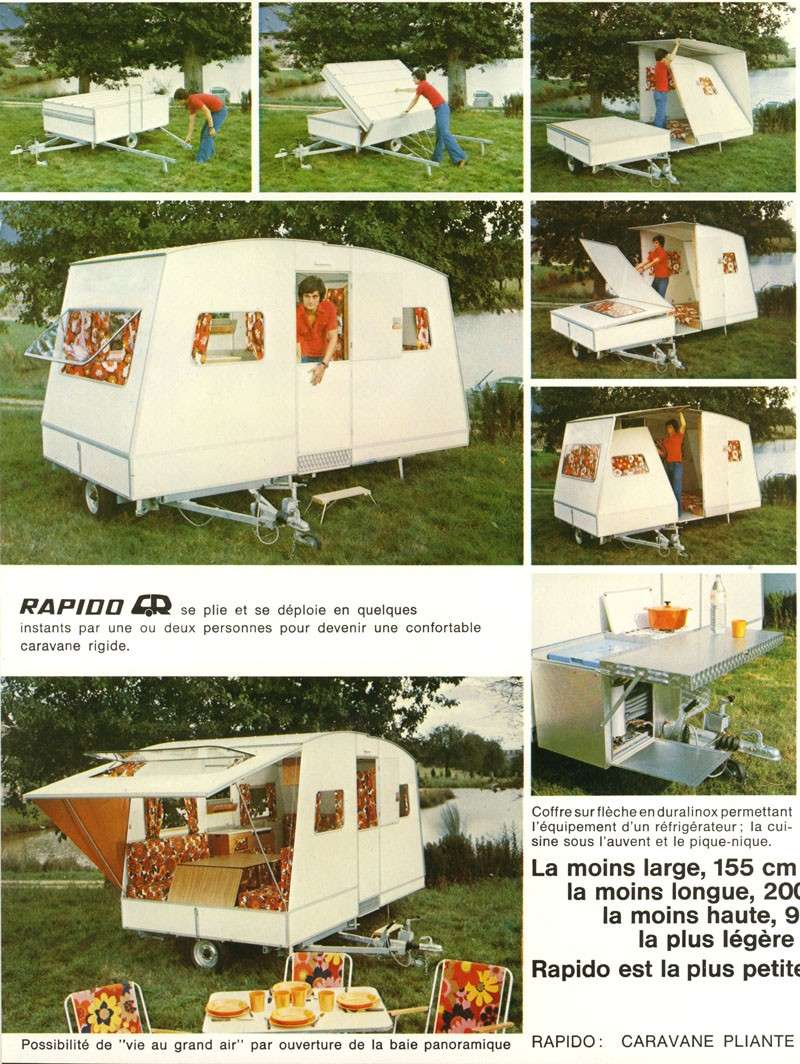 VENDU A Vendre Rapido Confort 1976