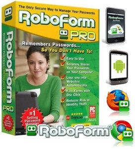 برنامج RoboForm Enterprise 7.3.2 Final لتعبئة بيانات الدخول