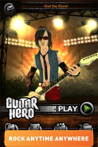 الان احدث العاب الايفون جيتار هيرو Guitar Hero 1.4.0