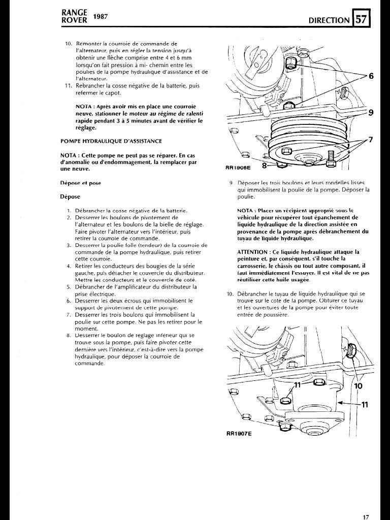 allumage v8 range rover