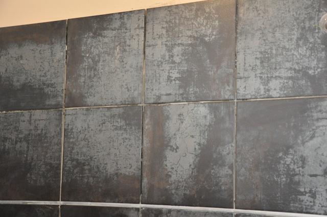 Avis couleur pour ma salle de bain for Carrelage gris metallise