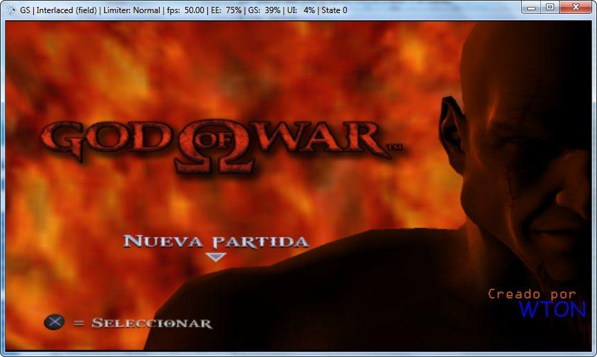 Emulador De Ps2 Para God Of War 1 Y 2 En ESPA OL 2013