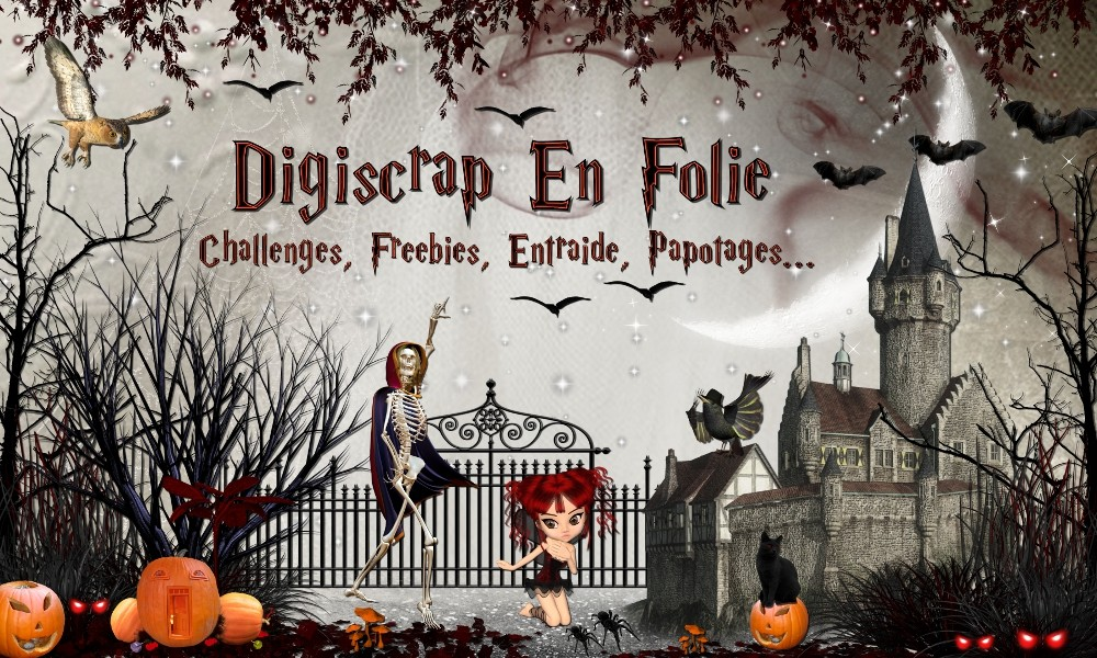 Digiscrap en folie