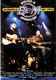 DVD Bruno e Marrone - Acústico Ao Vivo