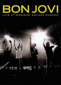 DVD Bon Jovi – Live At Madison Square Garden