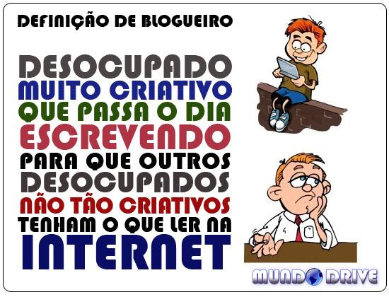 Definição de Blogueiro