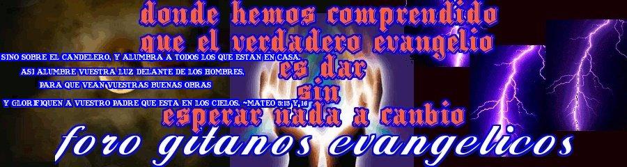 GITANOS EVANGELICOS