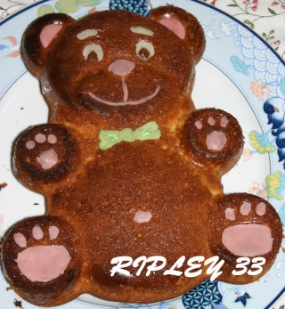 decoration gateau nounours