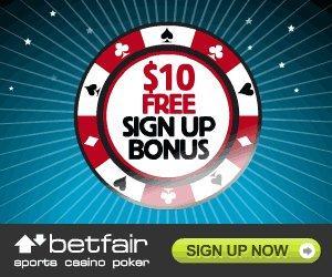 Betfair poker бездепозитный бонус