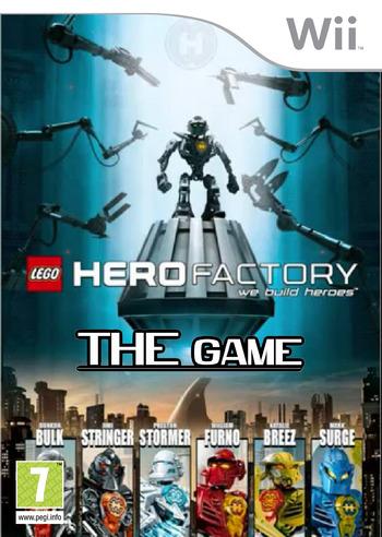 Fans arts des boites de jeu faites par vous - Lego hero factory jeux ...