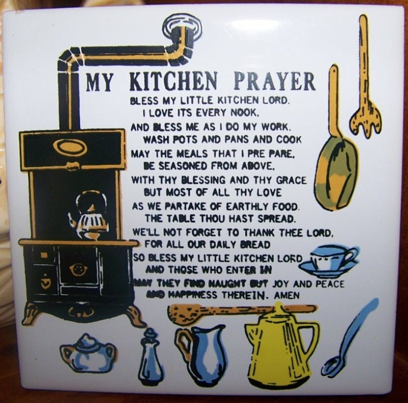 Kitchen Prayer Quotes: Kitchen Quotes And Poems. QuotesGram