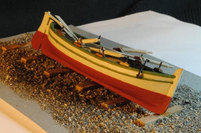 Lancia scialuppa diario di costruzione di brggpl gian for Proiettato in piani porticato gratis