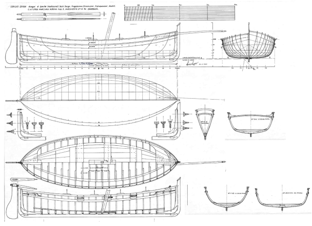 Lancia scialuppa diario di costruzione di brggpl gian for Piani principali del padrone del piano principale