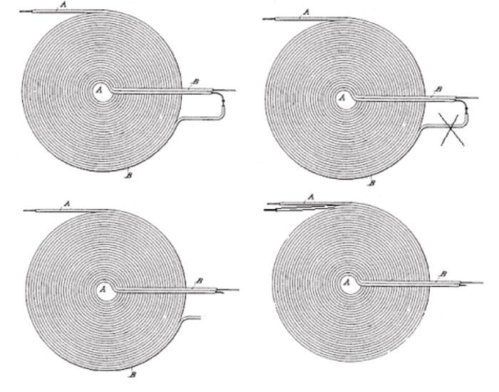 Плоская бифилярная катушка теслы схема включения