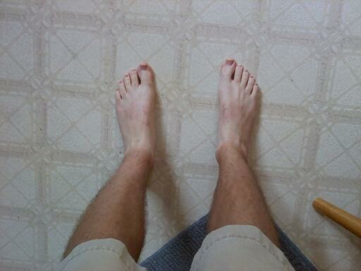 feet sexy man