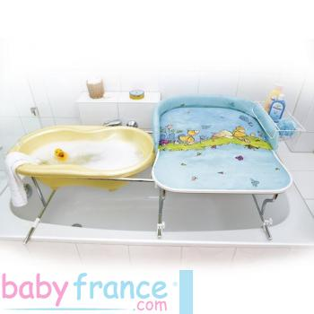 Quelle table langer pour salle de bain riquiqui - Table a langer adaptable sur lit bebe ...