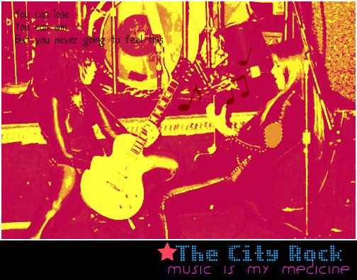 The city Rock