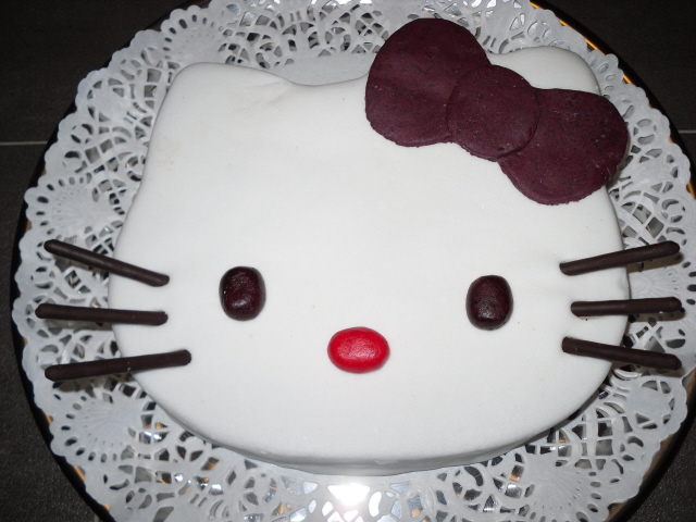 Hello kitty d cor plat sa t te ou en 2d page 12 - Tete hello kitty ...