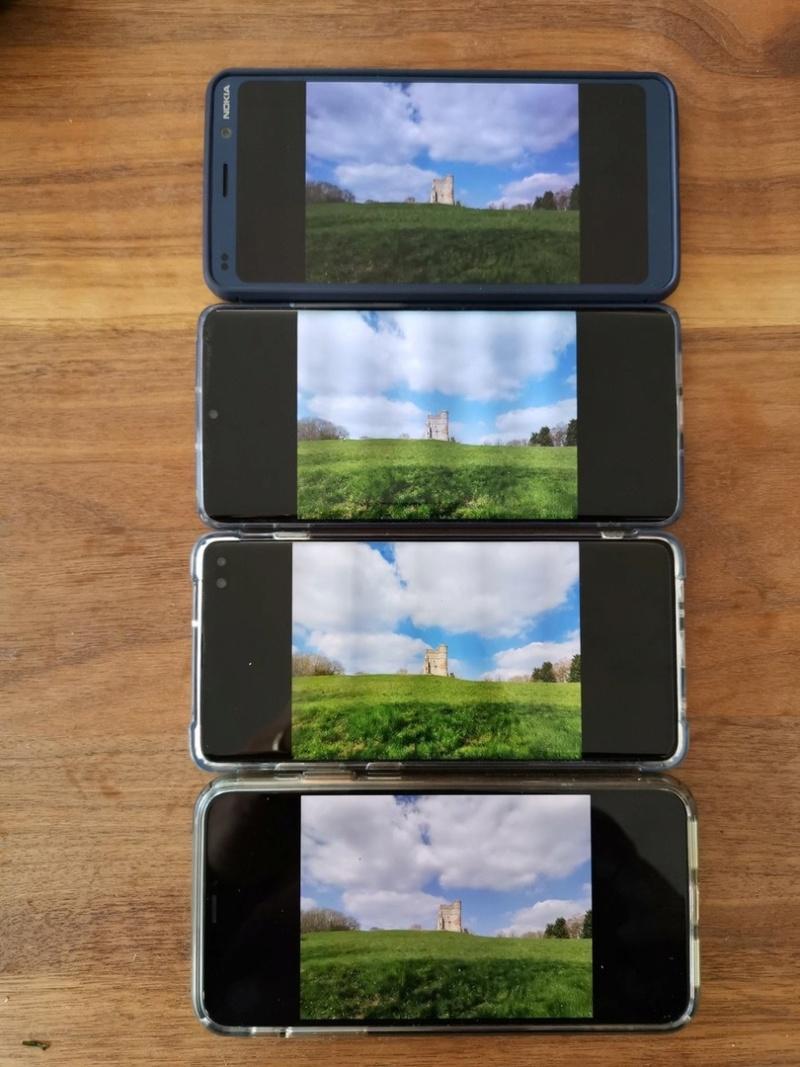 b8d828e26d7 Todos los píxeles que muestran el Glance en Nokia 9 se mueven cada 2  minutos y la pantalla parpadea cada minuto.
